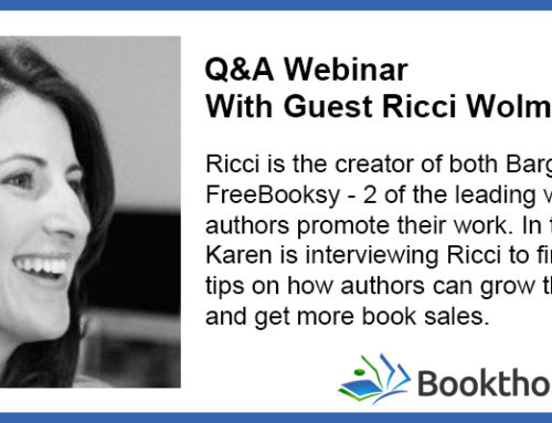FreeBooksy, BargainBooksy and Book Promotion with Ricci Wolman